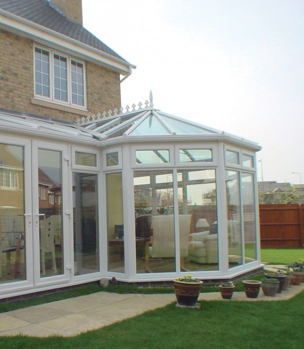 Our conservatories have inbuilt security and performance that do not compromise their look